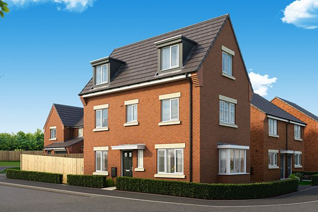 """Thumbnail Detached house for sale in """"The Overton"""" at Harwood Lane, Great Harwood, Blackburn"""