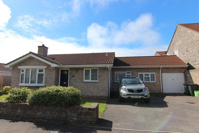 Thumbnail Detached bungalow for sale in Ebdon Road, Weston-Super-Mare