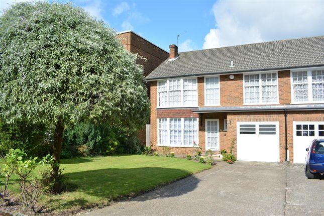 Thumbnail End terrace house for sale in Highridge Close, Epsom