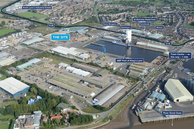 Thumbnail Industrial for sale in Estuary Road, King's Lynn