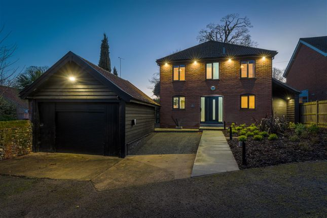 Thumbnail Detached house for sale in Bracondale, Norwich