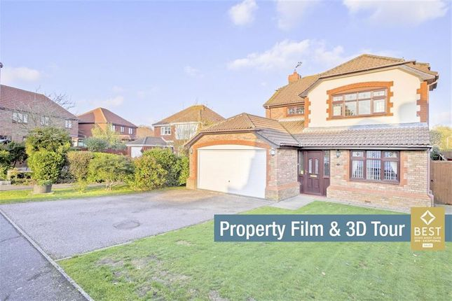 Thumbnail Detached house for sale in Holyhead Close, Hailsham