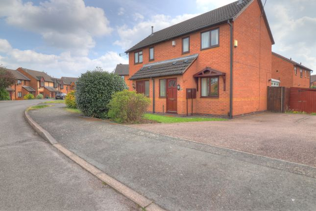 Thumbnail 2 bed semi-detached house for sale in St. Columba Way, Syston, Leicester