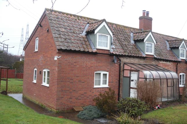 Thumbnail Semi-detached house to rent in The Common, Knodishall
