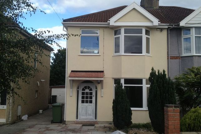 Thumbnail Semi-detached house to rent in Anchor Road, Kingswood, Bristol