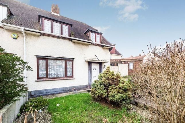 Thumbnail Semi-detached house for sale in Gobions Avenue, Collier Row, Romford