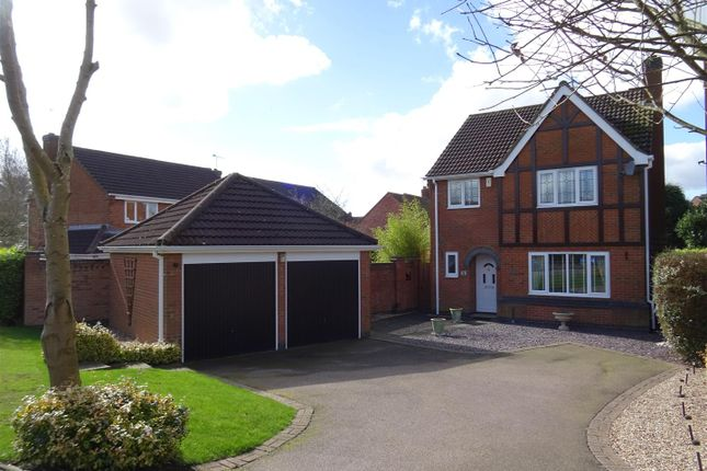 Thumbnail Detached house for sale in Wainwright Road, Hugglescote, Hugglescote