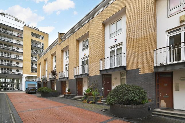 Exterior of Chandlers Mews, London E14