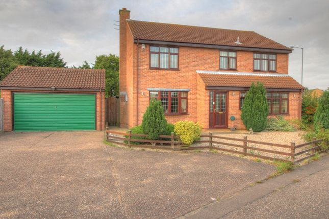 Thumbnail Detached house for sale in Clydesdale Rise, Bradwell, Great Yarmouth