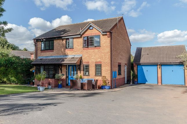 Thumbnail Detached house for sale in Norfolk Drive, Tamworth, Staffordshire
