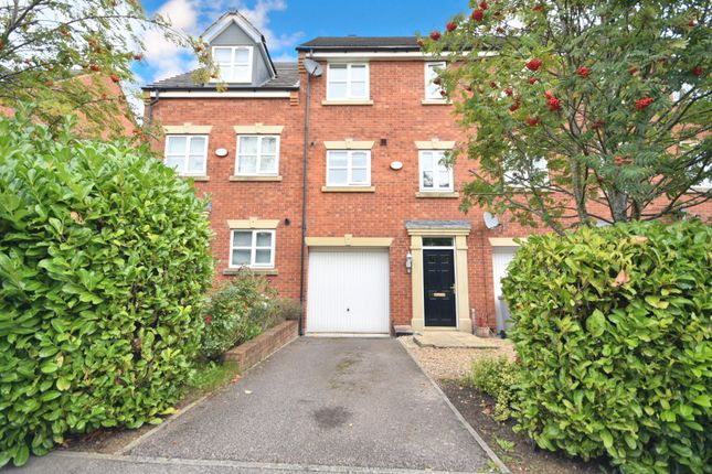Thumbnail Town house for sale in Frost Close, Desborough, Kettering