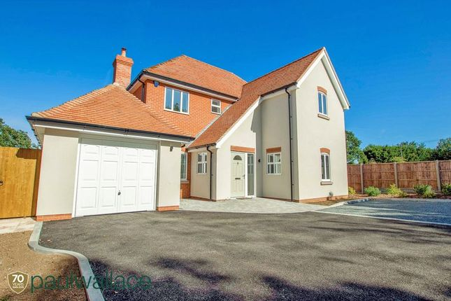 Thumbnail Detached house for sale in Oak Tree Close, Bumbles Green, Nazeing