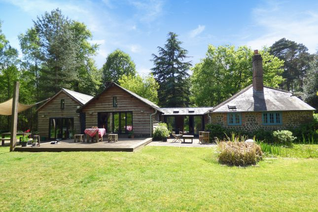 Thumbnail Detached house for sale in Minsted, Midhurst
