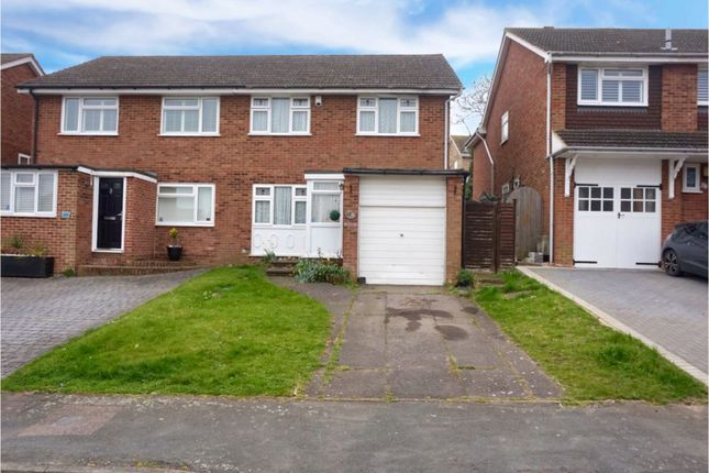 Thumbnail Semi-detached house for sale in Goodwin Road, Cliffe Woods Rochester