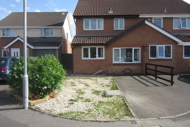 Thumbnail Semi-detached house to rent in Ffordd Y Gamlas, Gowerton, Swansea.