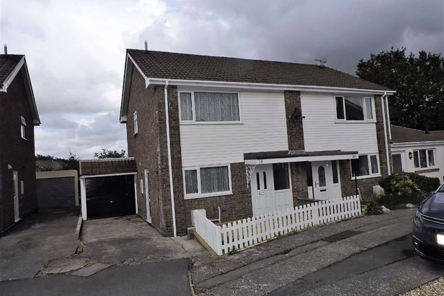 Thumbnail Semi-detached house for sale in Fforest Fach, Tycroes, Ammanford