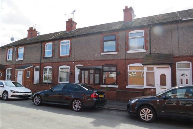 Thumbnail Terraced house to rent in Collin Street, Uttoxeter