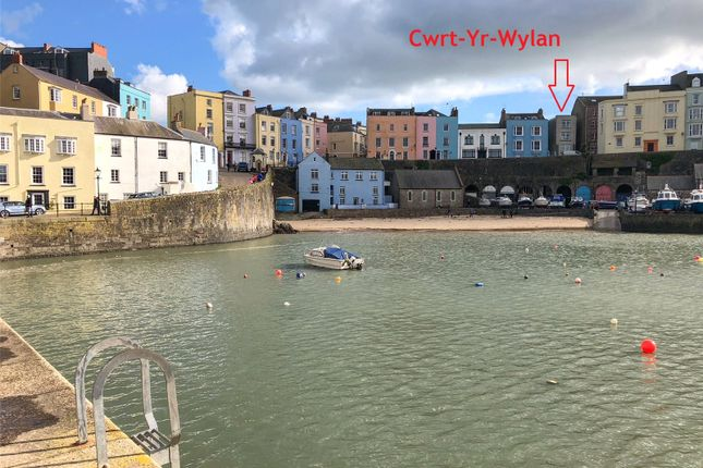 Thumbnail Maisonette for sale in Cwrt Yr Wylan, Bridge Street, Tenby, Pembrokeshire