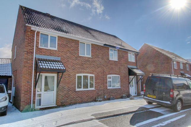 Thumbnail Semi-detached house for sale in Mill Croft Close, New Costessey, Norwich