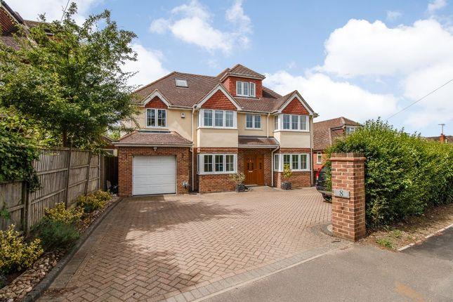 Thumbnail Detached house for sale in Matthewsgreen Road, Wokingham, Berkshire