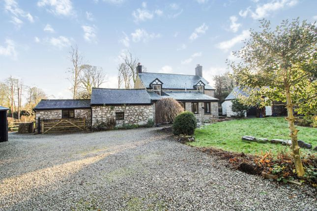 Thumbnail Detached house for sale in Pentre, Cilcain