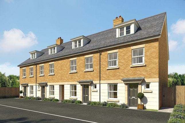 "Thumbnail Terraced house for sale in ""Wellington Mid"" at Southfleet Road, Ebbsfleet"