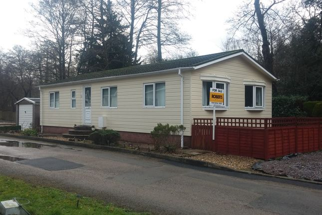Thumbnail Mobile/park home for sale in Woodlands Park, Pontypool
