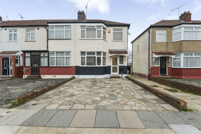 Thumbnail End terrace house for sale in Carisbrook Close, Enfield, Greater London