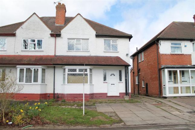 Thumbnail Semi-detached house for sale in Linchmere Road, Handsworth, Birmingham