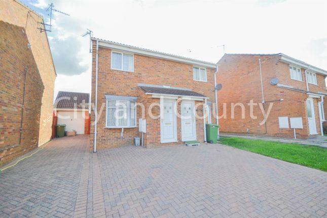 Thumbnail Semi-detached house for sale in Hawkshead Way, Gunthorpe, Peterborough