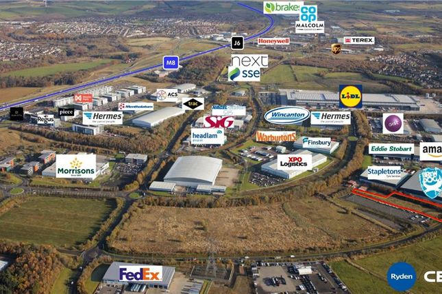 Thumbnail Light industrial for sale in Plot K, Eurocentral, Condor Glen, Motherwell, North Lanarkshire