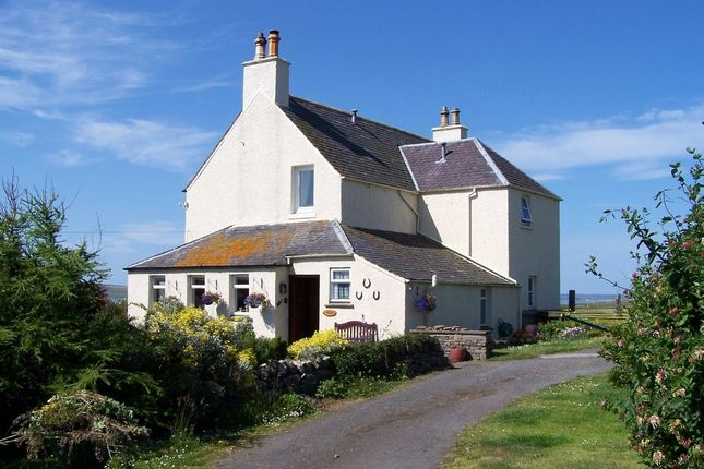 Thumbnail Detached house for sale in Dunnet, Thurso