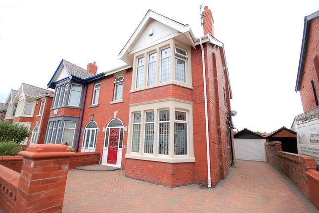Thumbnail Semi-detached house for sale in Woodstock Gardens, Blackpool