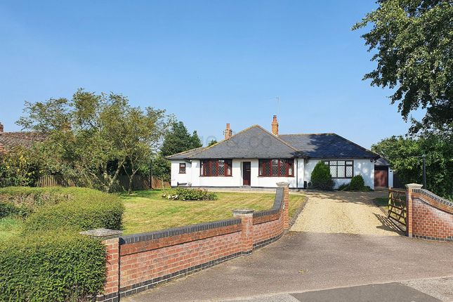 Thumbnail Detached bungalow for sale in Church Road, Blundeston, Lowestoft