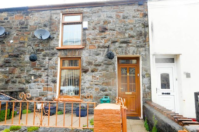 Thumbnail Terraced house for sale in Parc Road, Cwmparc