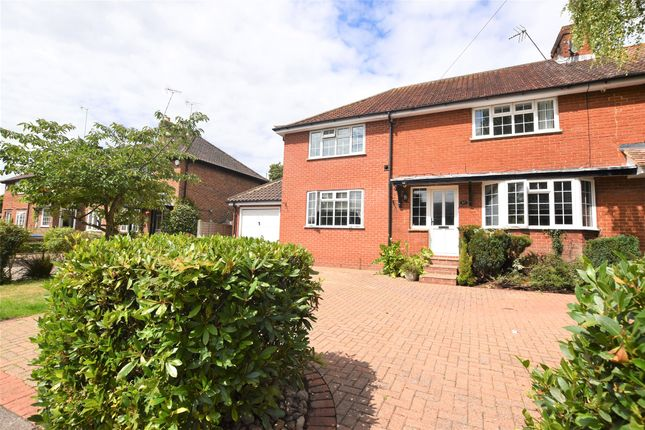 Thumbnail Semi-detached house for sale in Larkfield Road, Sevenoaks, Kent