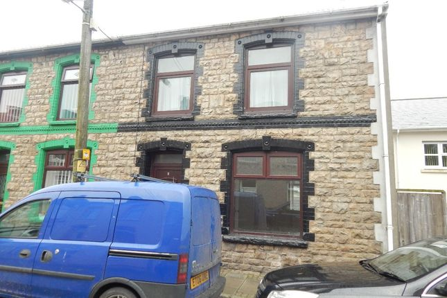 Thumbnail End terrace house to rent in 6 Mount Pleasant Road, Ebbw Vale