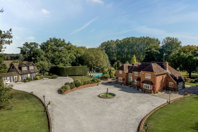 Thumbnail Detached house for sale in Lambs Lane, Swallowfield, Reading, Berkshire