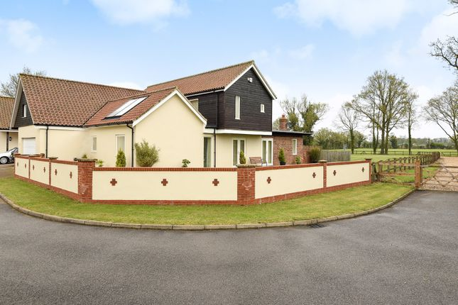 Thumbnail Detached house for sale in The Meadows, Attleborough