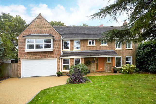 Thumbnail Detached house for sale in Woodend Park, Cobham, Surrey