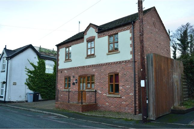Thumbnail Detached house to rent in Old Chester Road, Barbridge, Nantwich