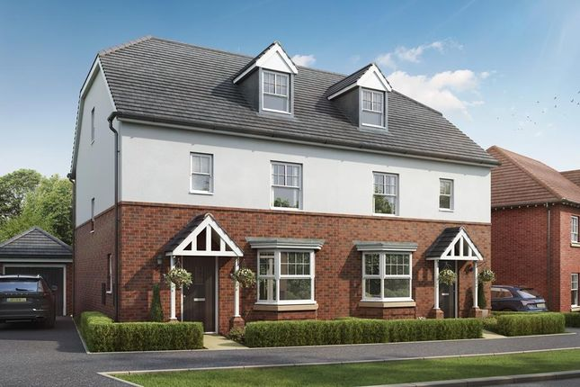 """Thumbnail 4 bedroom detached house for sale in """"Stambridge"""" at Lower Road, Hullbridge, Hockley"""