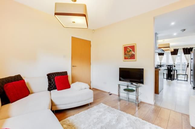 TV Room of Mulberry Square, Renfrew, Renfrewshire, . PA4