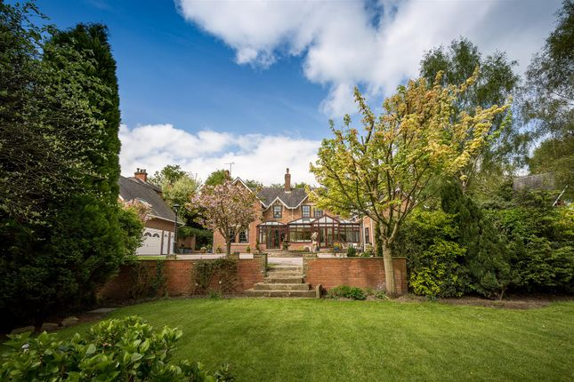 Thumbnail Detached house for sale in The Common, Quarndon, Derby