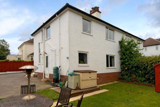 Thumbnail Semi-detached house for sale in Warren Drive, Budleigh Salterton, Devon