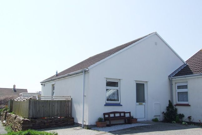 Thumbnail Bungalow for sale in Tregundy Road, Perranporth