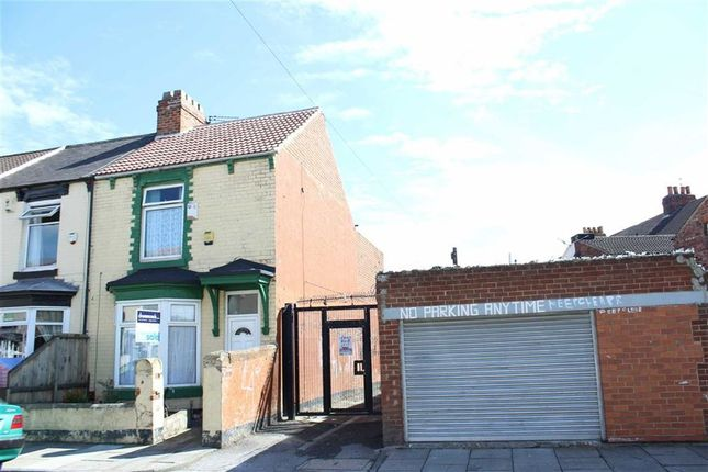 Thumbnail End terrace house for sale in Chester Street, Middlesbrough