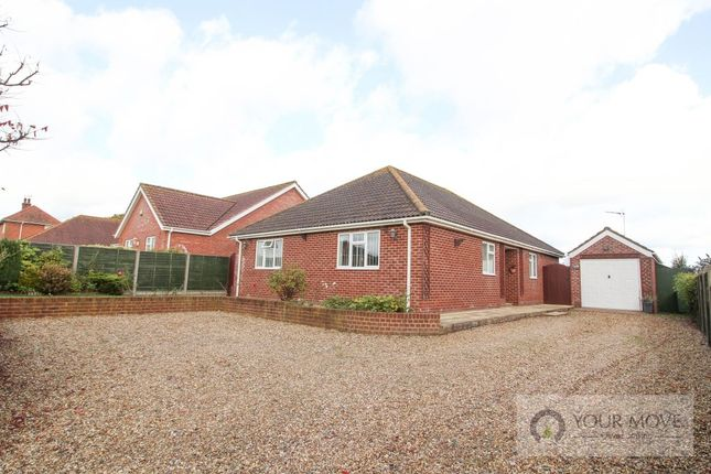 Thumbnail Bungalow for sale in Loddon Road, Norton Subcourse, Norwich