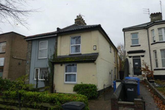 Thumbnail Semi-detached house for sale in 160 Dereham Road, Norwich, Norfolk