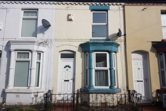 Thumbnail Terraced house for sale in Bartlett Street, Wavertree, Liverpool